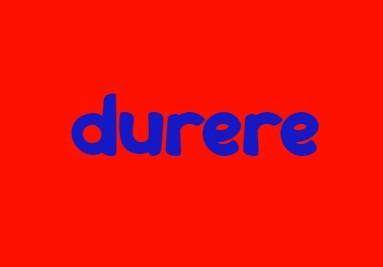 Durere